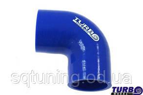 Силиконовый патрубок TurboWorks - Угол 90° переходной - 76-102 мм