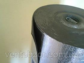 Изолон 8 мм фольгированный двухсторонний; пенонополиэтилен 8 мм фольга двухсторонний