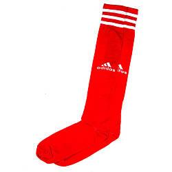 Красный футбольные гетры Adidas