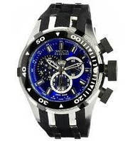 Часы для подводной охоты Invicta Reserve Bolt II Chronograph Blue Mens Watch