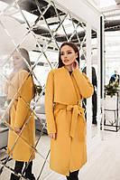 Женское ультрамодное кашемировое пальто мод.171