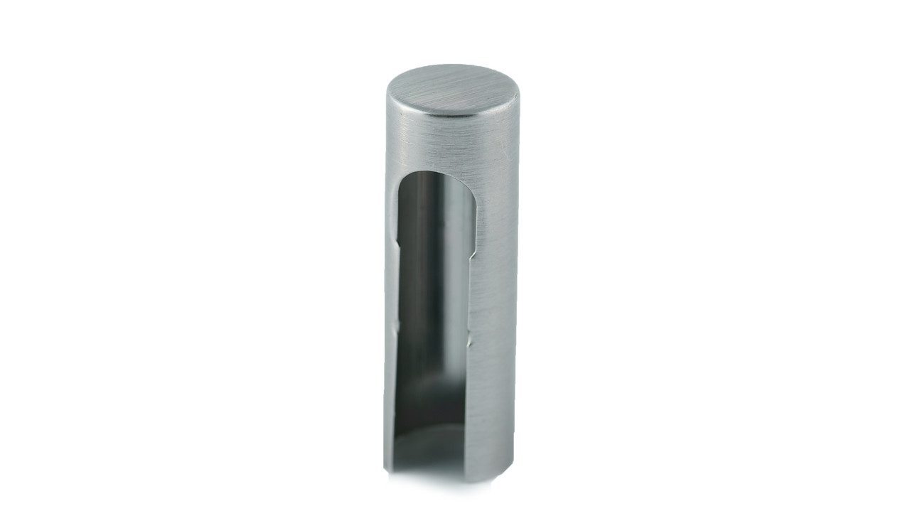 Накладка декоративная на петлю 3D алюминий: SN