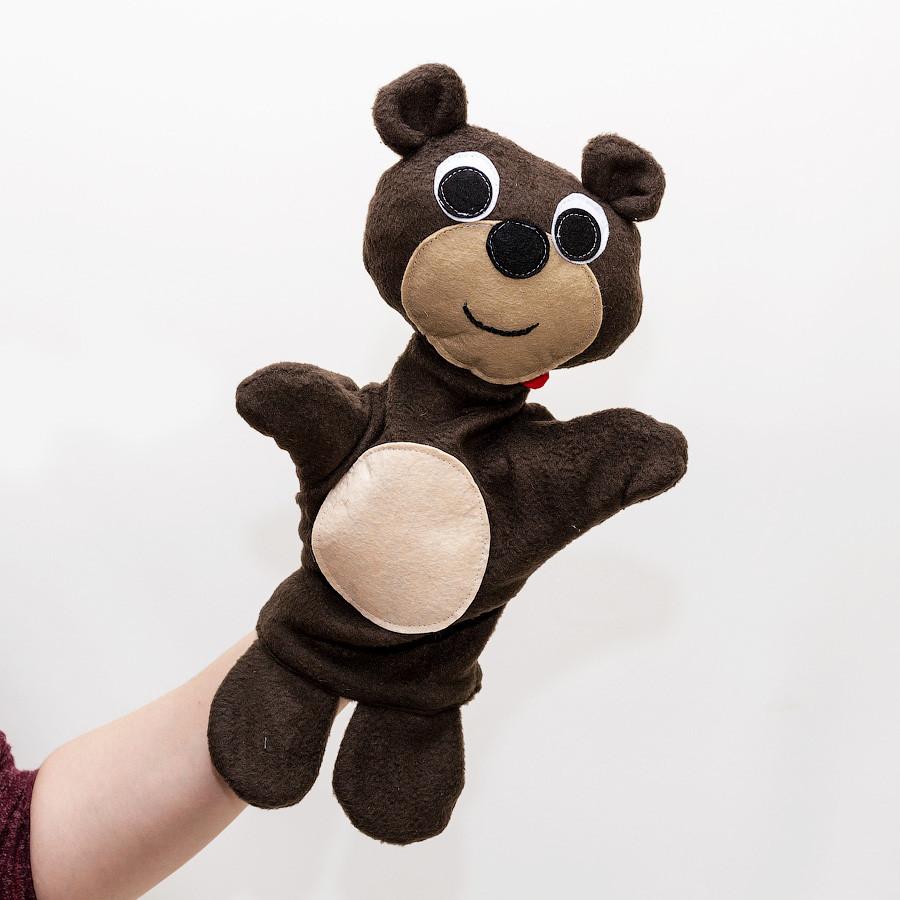 Кукла-перчатка Медведь большая