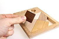 Деревянная головоломка Черный квадрат Заморочка XL 6005