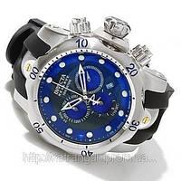 Часы  Invicta Reserve Mens Venom Puppy Edition Swiss Quartz Chronograph Polyurethane Strap Watch