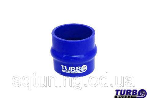 Силиконовый патрубок TurboWorks - Прямой с буфером - 51 мм