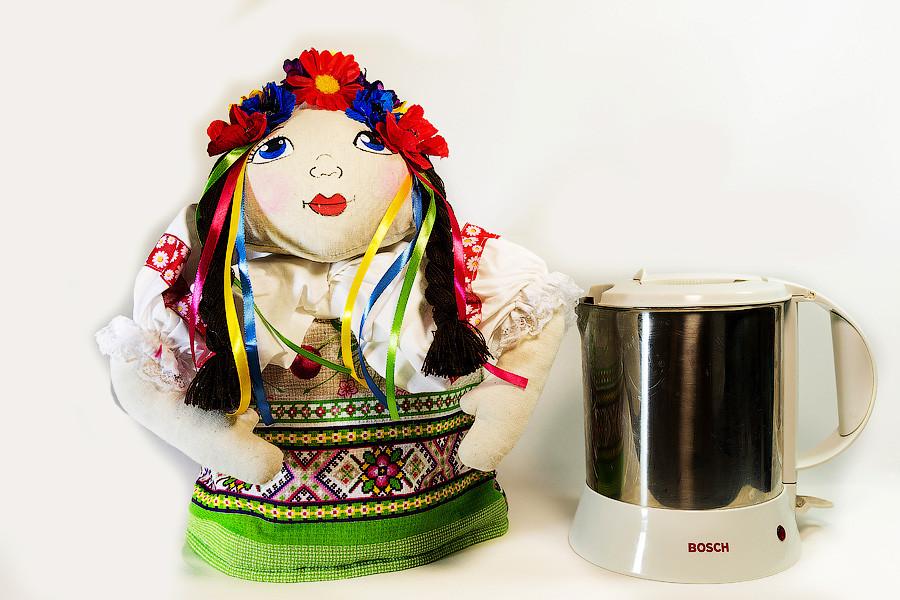 Грелка на чайник Vikamade Украинка