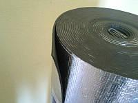 Изолон 3 мм фольгированный самоклеющийся ; пенонополиэтилен 3 мм фольга+клей