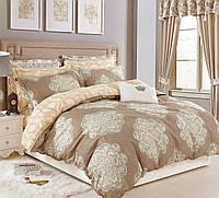 Двуспальный комплект постельного белья 180*220 сатин (9594) TM КРИСПОЛ Украина