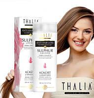 Шампунь органический Thalia с экстрактами серы и перца от выпадения