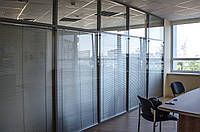 Офисные перегородки с двойным остеклением, фото 1