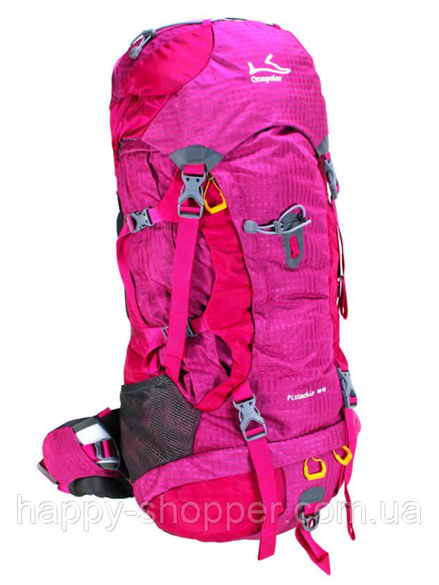 Туристический рюкзак 60-70 л Onepolar Pistachio 1632 Малиновый