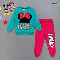 Утеплённый костюм Minnie Mouse для девочки., фото 1