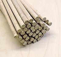 Палочки деревянные круглые 6мм*60см бук.