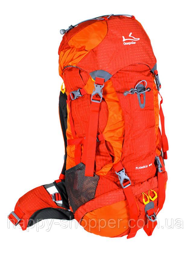 Туристический рюкзак 60-70 л Onepolar Pistachio 1632 Оранжевый