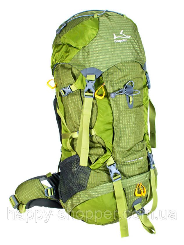 Туристический рюкзак 60-70 л Onepolar Pistachio 1632 Зеленый