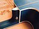 Электроакустическая гитара матовая EQUITES (Кападастр+Медиатор+Ключ), фото 6