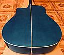 Электроакустическая гитара матовая EQUITES (Кападастр+Медиатор+Ключ), фото 4