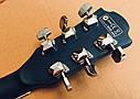 Электроакустическая гитара матовая EQUITES (Кападастр+Медиатор+Ключ), фото 10