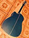 Электроакустическая гитара матовая EQUITES (Кападастр+Медиатор+Ключ), фото 5