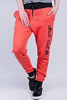 Брюки спортивные женские свободные №279F001 (Морковный)