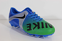 Подростковые бутсы сороконожки   Nike Mercurial комбинированные