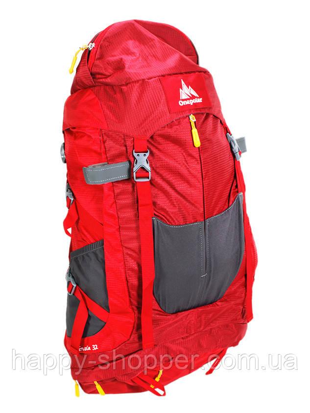 Туристический рюкзак 32 л Onepolar Ensia 1637  Красный
