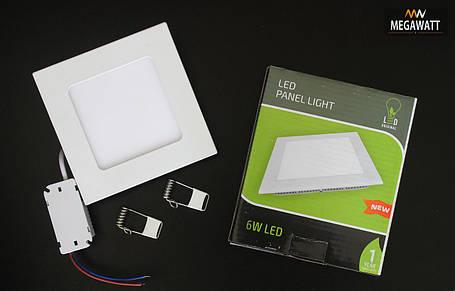 LED Panel Light квадрат 6W 4100K LED ORIGINAL, фото 2