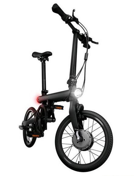 Электровелосипед складной Xiaomi Qicycle Bike (EF1) Черный, Белый (оригинал), фото 1