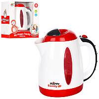 Чайник детский игрушечный5205, 18см, звук, свет, на бат-ке, в кор-ке, 20-21-11см