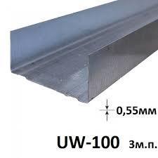 Профиль UW 100 3 м (0,55 мм)