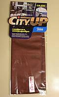 Салфетка из микрофибры для очистки стекла CityUP Shine CA-106, фото 1