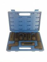 Набор головок для кислородных датчиков, (лямбда-зонда) 10 предметов 1-E1018 Ampro