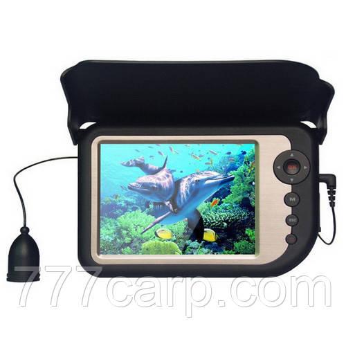 """СС5-PRO Видеоудочка 5"""" цветноймонитор с записью, функция увеличения изображения подводнаякамера для рыбалки"""