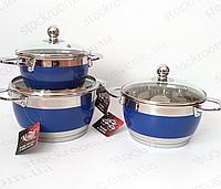 Набор посуды Krauff 26-189-040 Kobalt