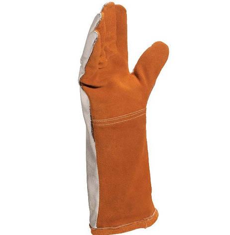 Перчатки рабочие крага сварщика TERK 400, фото 2