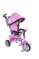 Детский трехколесный велосипед Lorelli B302A Pink