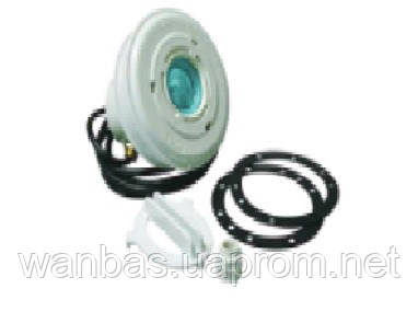Подводный светодиодный светильник, 18 LED, под пленку, с латунными вставками, 12 В, RGB (динамический режим)