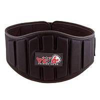 """Пояс атлетический для штангиста Polyfoam Velo 8"""" размер L, XL, 2XL L"""