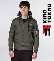 11 Kiro Tokao | Демисезонный мужской бомбер 322 хаки-камуфляж