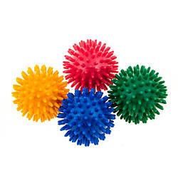 Мяч массажный яркий диаметр 6см