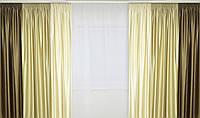 Атласные шторы Трио комплект
