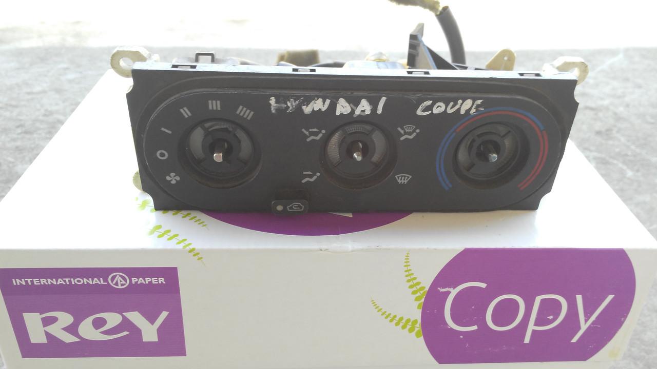 Блок управління пічкою/кліматконтролем для Hyundai Coupe