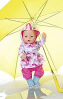 Одяг для ляльок Бебі Борн Baby Born комплект для дощу Zapf Creation 823781
