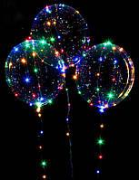 Воздушный светодиодный шар Bobo (круглый), фото 1