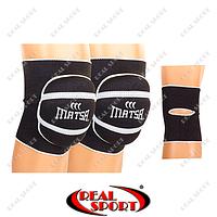 Наколенник волейбольный Matsa MA-0028 (2шт, р-р S-L, черный)