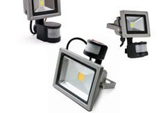 Прожекторы LED с датчиком движения