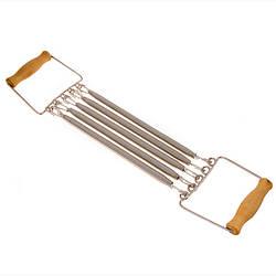 Плечевой металлический эспандер 5 пружин