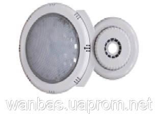 Прожектор светодиодный накладной для сборных бассейнов 15W, цветной RGB, 180 LED, 380 Lm, 6 м кабель, пульт ДУ