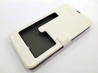 Чехол книжка с окошком momax для Nokia Lumia 1320 белый